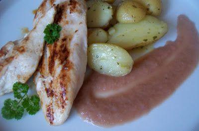 .. chute a vône mojej kuchyne...: Kuracie prsia s cibulovou omackou