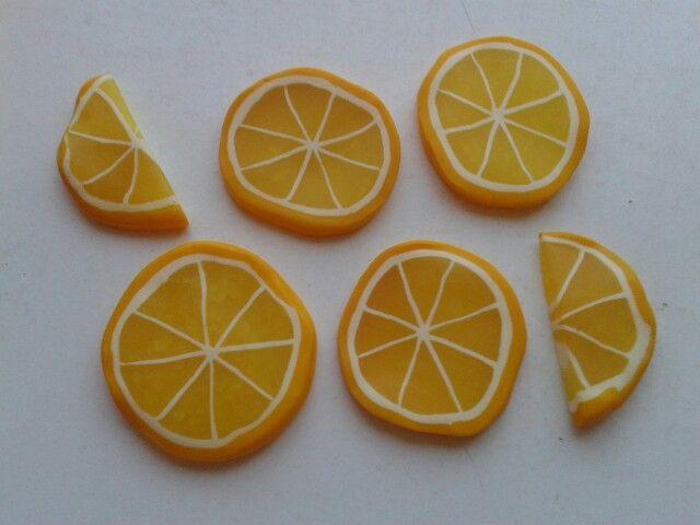 Fimo jídlo do dětské kuchyňky citron