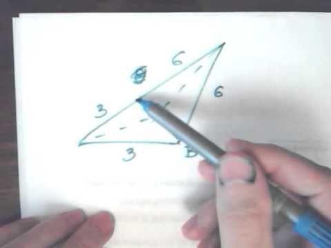 Запрещено к просмотру. В треугольнике ABC проведена биссектриса AM решение квадратных уравнений через дискриминант