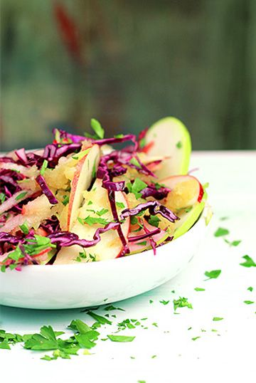 ... and apple slaw   FOOD   Pinterest   Cabbages, Apple slaw and Salads