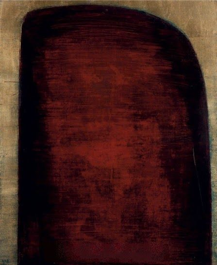 forma es vacío, vacío es forma: Anna-Eva Bergman