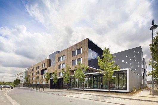 © Sergio Grazia Architects: Gaetan Le Penhuel Architectes Location: Carrières-sous-Poissy, France Area: 4,500 sqm Year: 2013 Photographs: Sergio