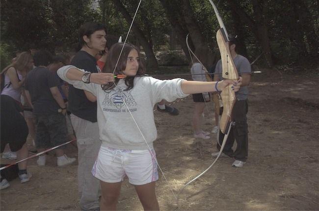 Tiro con Arco en Campamentos En Ingles, para mas informaciones en http://turiaventura.es/campamentos/campamentos-en-ingles