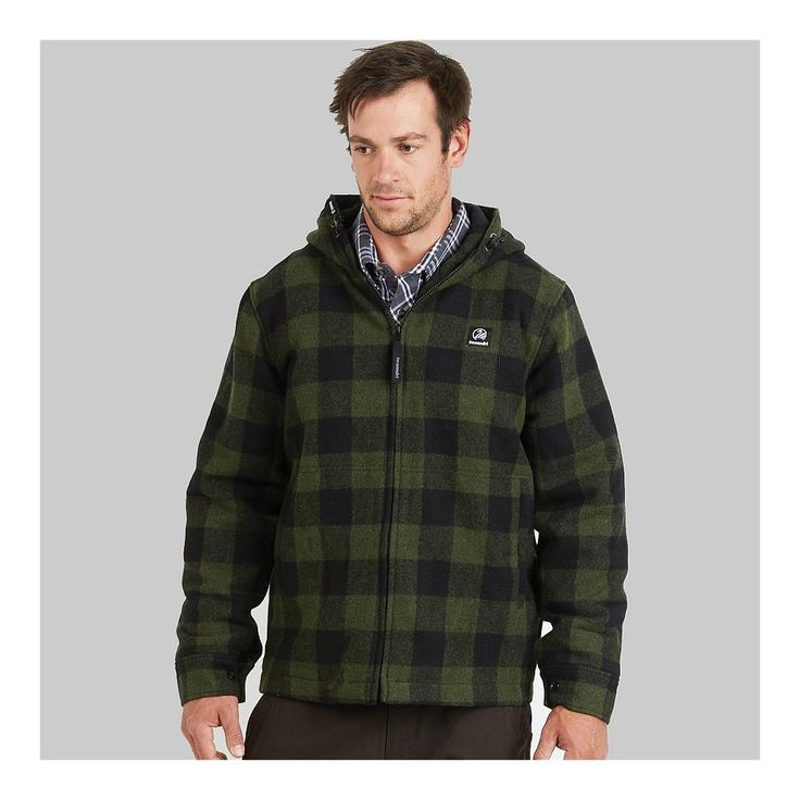 Swanndri: Boston wool hoody.