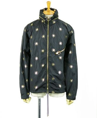 PALM ANGELS(パームエンジェルス) ウィンドブレーカー ALL STARS WINDBREAKER [PMEB004F161140551000] ブラック