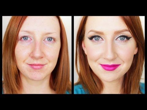 Something For The Weekend - Day to Night Makeup Tutorial by Sharon Farrell. great explanation of batwing liner!