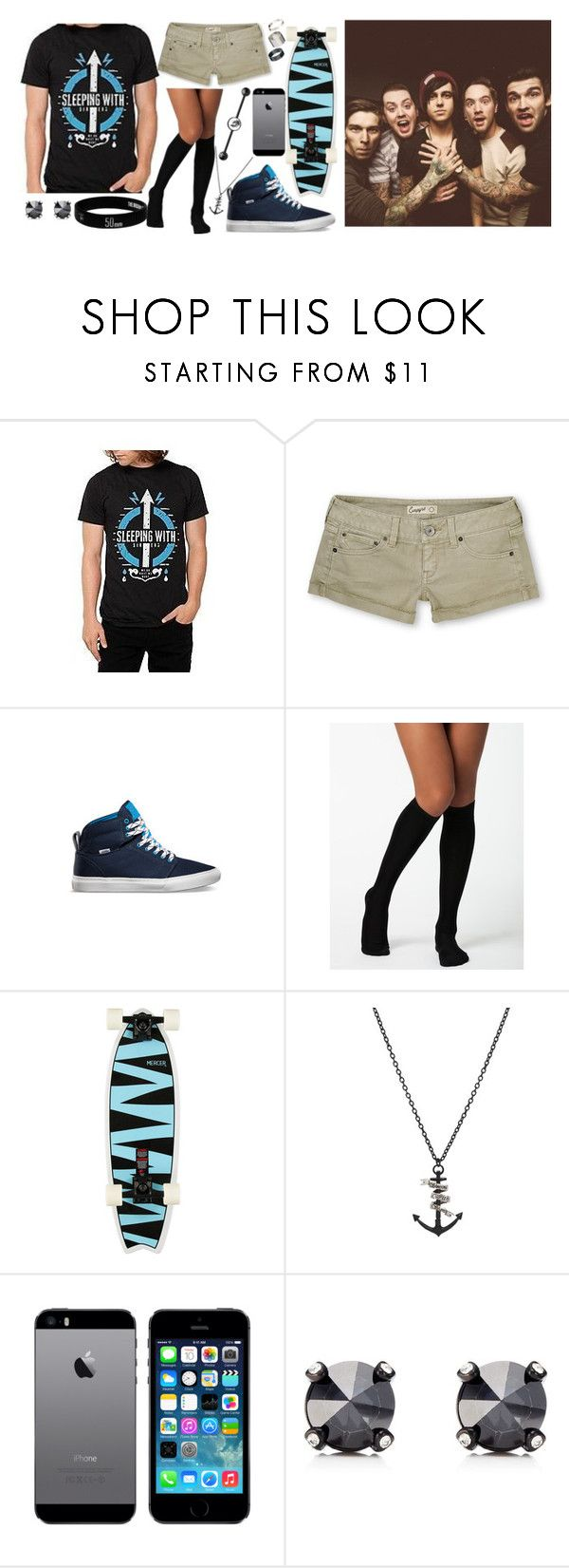 """""""You've made me hate my own reflection Question every choice I make So I could try to be perfect I won't try to be fake"""" by ferny117 ❤ liked on Polyvore featuring Vogue, ADAM, Juicy Couture, Just Acces, vans, sleepingwithsirens, sws, iphone5 and adamelmakias"""