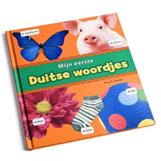 Duitse woorden - Leer je kind zijn of haar eerste woordjes en korte zinnetjes Duits aan de hand van dit leuke boekje. Met veel plaatjes en duidelijke uitleg.