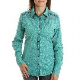 Roar Women's Spur Mrs Teal Shirts