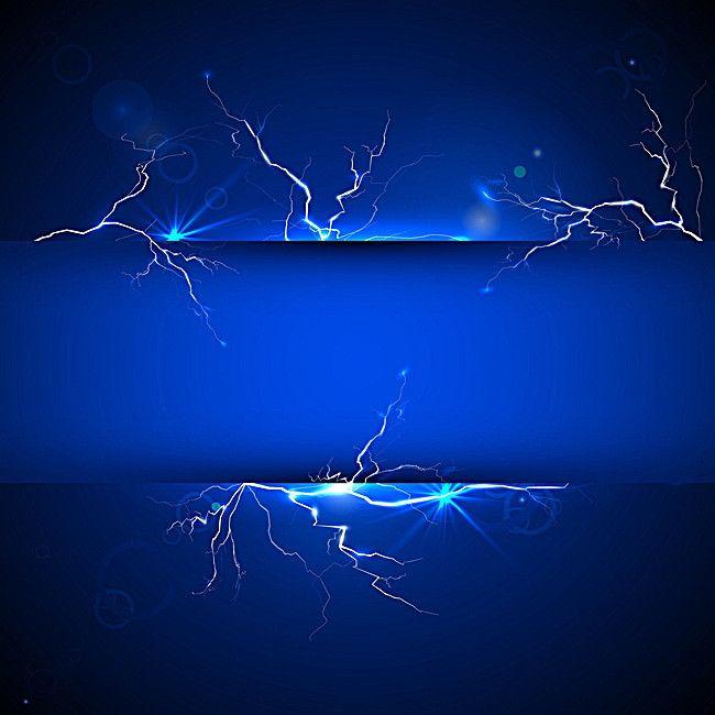 Blue Lightning | Blue lightning, Lightning, Colorful ...