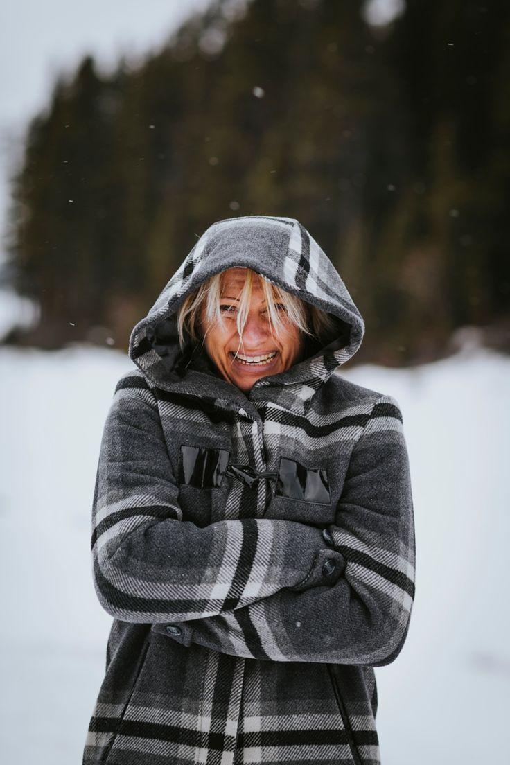 The beautiful and slightly chilly bride to be. Taken in Kananaskis, Rocky Mountains, Canada. Photo by Benjamin Stuart Photography #weddingphotography #rockies #canada #love #engagementshoot #soontobemrandmrs