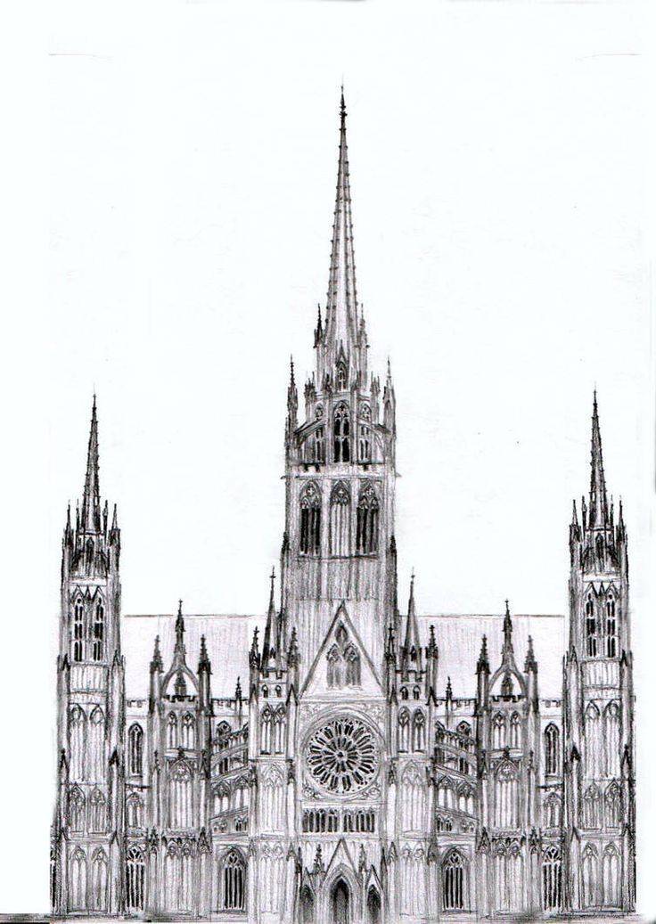 Rough Design For A Cathedral Architecture Diy Gothic Architecture Drawing Cathedral Architecture Gothic Architecture