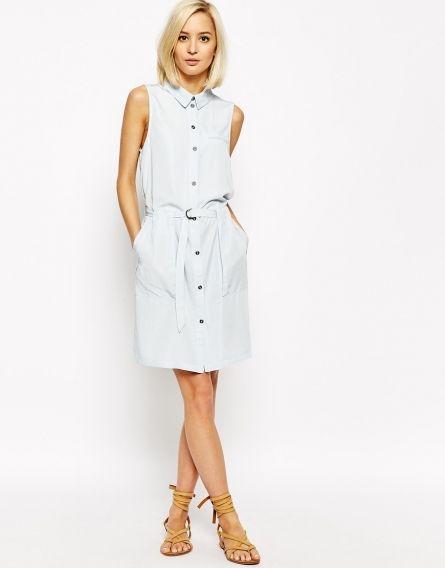 Платье-рубашка 2015