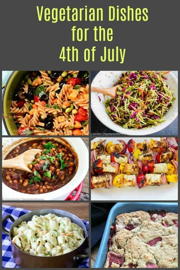 Vegetarian Cookout Recipes For The 4th Of July Vegetarian