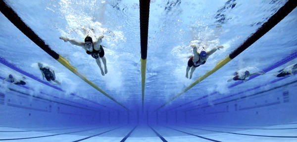 This is what I wanted to do, be an Olympic swimmer. I need to get back into this!
