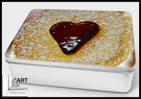 """Keksdose """"Spitzbub"""" aus Weißblech von Art-MG auf DaWanda.com"""