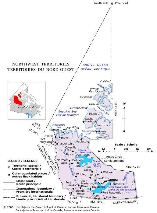 Canada - Territoires-du-Nord-Ouest