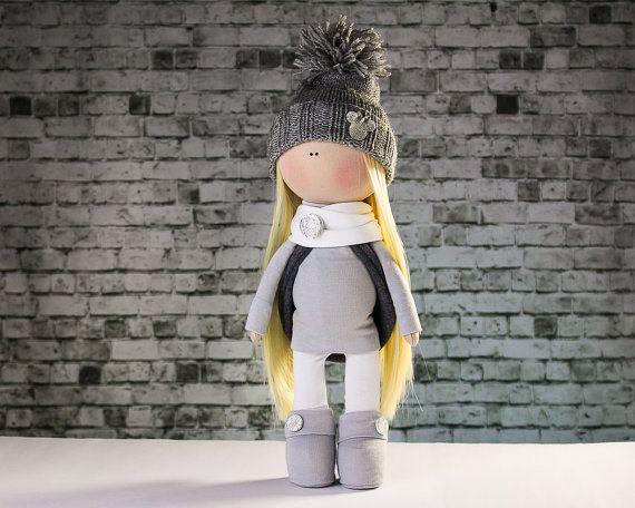 Doll Amanda. Tilda doll. Fairy doll. Textile doll. Soft от OwlsUa