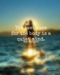 Ziekte en meditatie - Als je ziek bent, of het nu tijdelijk of chronisch is, mentaal of fysiek, dan is het moeilijk om je te ontspannen. De pijn en de algehele malaise overheersen je lichaam en beheersen je geest. Afhankelijk van de aard van de pijn is het moeilijk om iets anders te voelen dan ellende.Het enige dat je … Continue reading Ziekte en meditatie