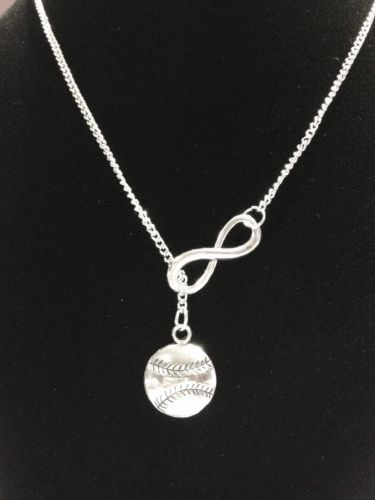 I think this might be my favorite Baseball/softball and infinity necklace.  @hrkidwell