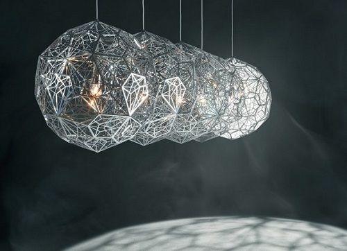 Etch Web Steel Pendant - Taklamper-Hengelamper - Belysning