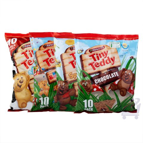 Assorted Tiny Teddy Multipacks – Arnott's  | Shop Australia