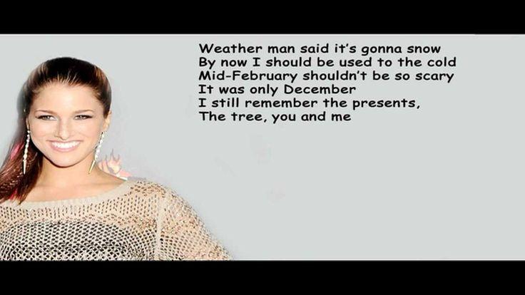 Karaoke - Cassadee Pope Over You WITHOUT VOICE - Lyrics On Screen