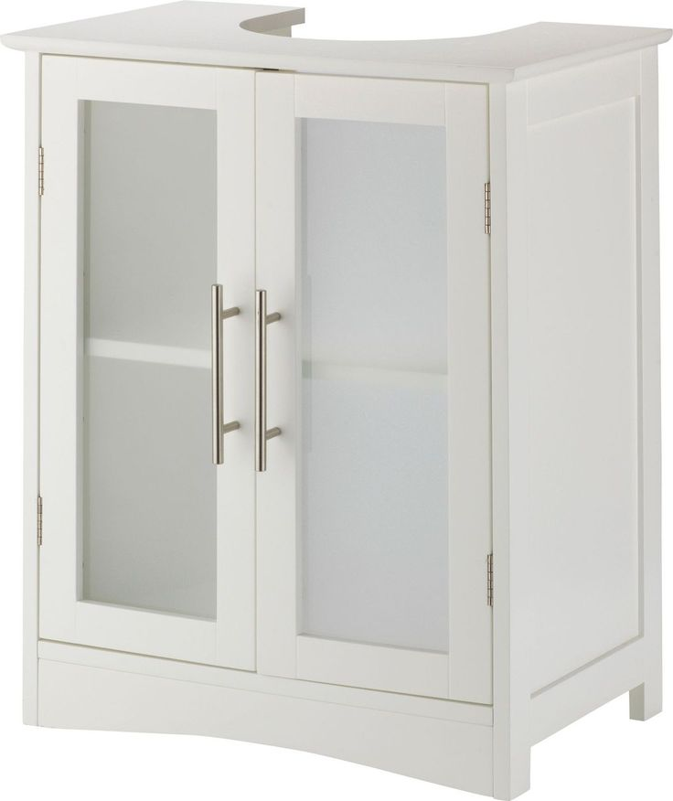 Hygena Frosted Insert Under Sink Storage Unit. in Home, Furniture & DIY, Furniture, Bookcases, Shelving & Storage | eBay