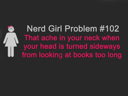 Nerd Girl Problems #102