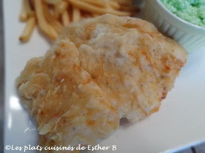 Les plats cuisinés de Esther B: Fish and chips de Ricardo