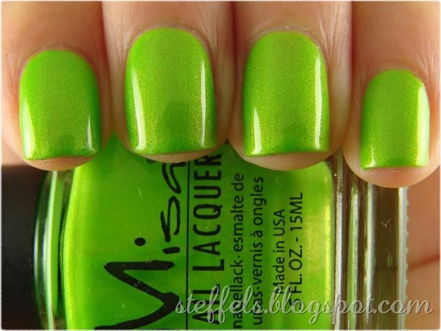 Lime green - beautiful!