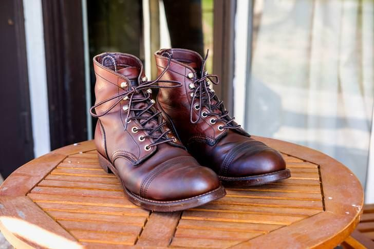 48533d5e468 2 Years of Red Wing Iron Ranger 8111 Amber Harness | Boots | Red ...