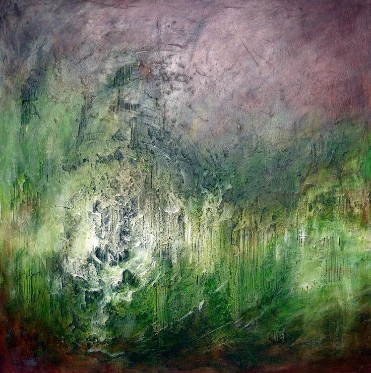 Tableau style design 60x60mm - Acrylique sur medium #peinture #abstrait      www.rachel-seguin.fr