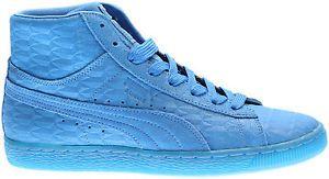 Mens Puma Suede ME Mid Iced Blue  | eBay