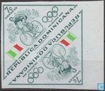 Timbres-poste - Dominicaine (République) - Jeux olympiques #vélo