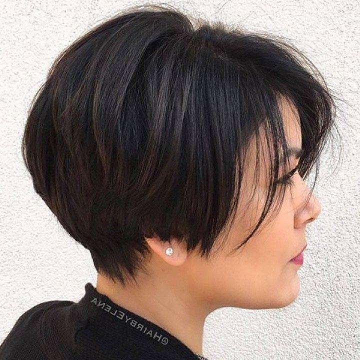 Frisuren Fur Damen Frisuren Stil Haar Kurze Und Lange Frisuren Kurzhaarschnitt Fur Dickes Haar Haarschnitt Kurz Frisuren Glatte Haare