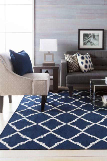 K ptal lat a k vetkez re navy and grey living room - Navy rug living room ...