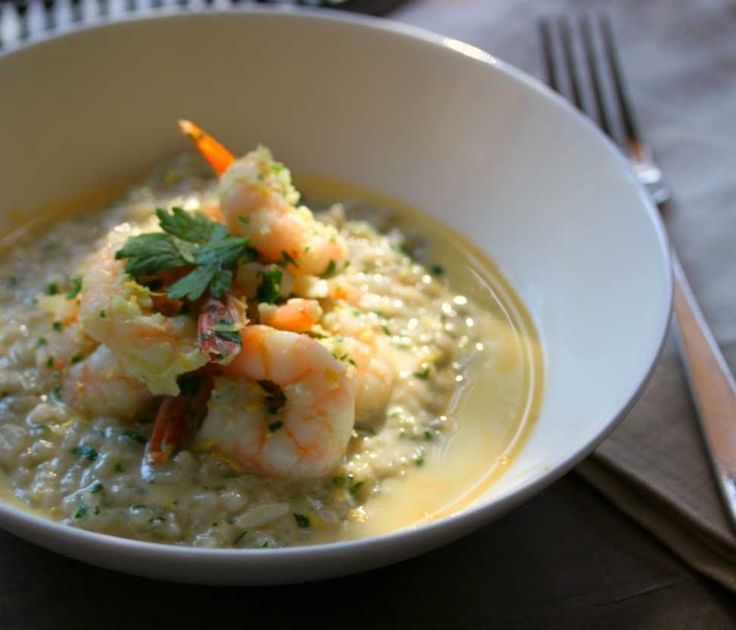 Light Lemon Risotto - Cooking with Tenina