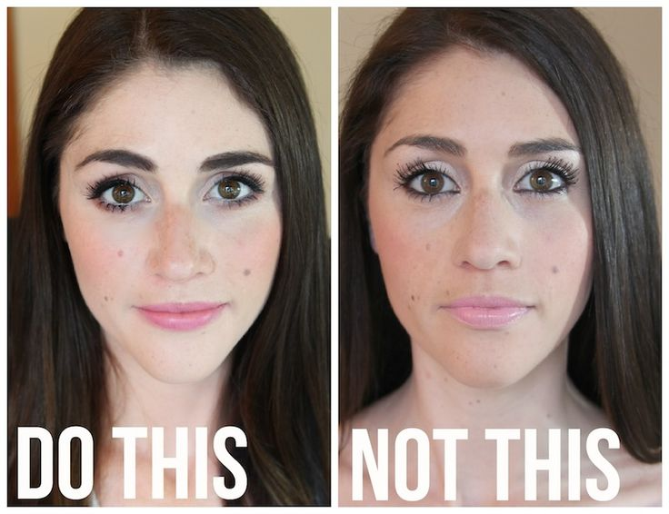 Do This, Not This: 10 Common Everyday Makeup Mistakes