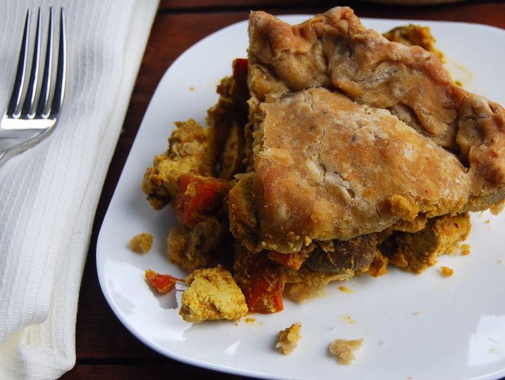 Indian Tikka Masala Pot Pie [Vegan]   Pot pies, Cas and Thanksgiving