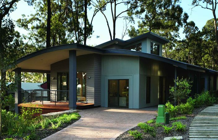 Fascinating Sloping Block House Designs Central Coast Contemporary ...