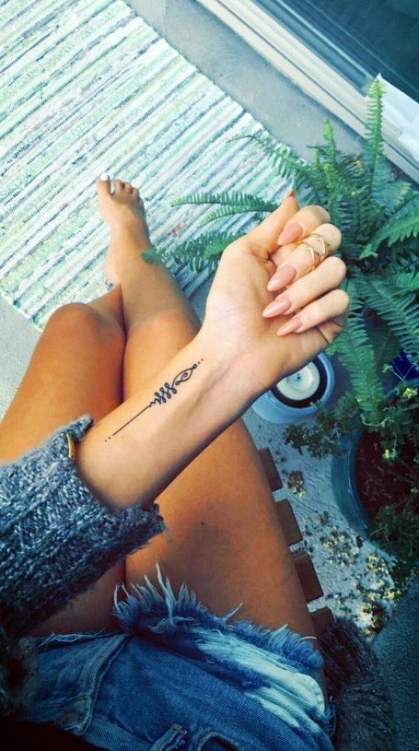 Your tattoo doesn't need to be big to be cool. Remember! simplicity and placement are key. Meaningful but cute minimalist tribal tattoo designs are the best