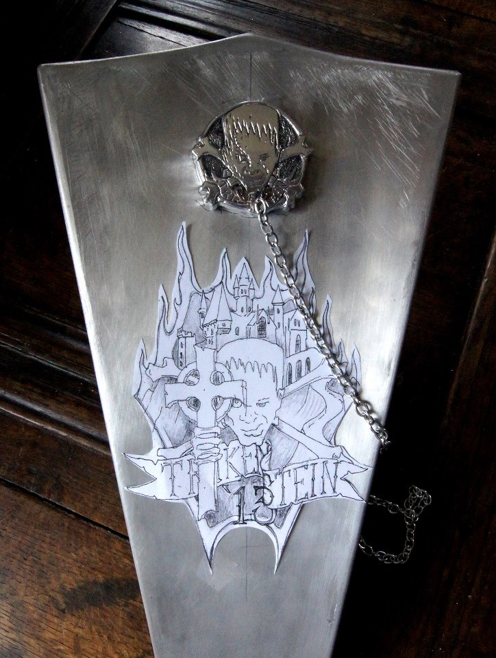 Trikenstein tank step 1. Designed and engraved by Elliott Morehardt. www.gothardt.com