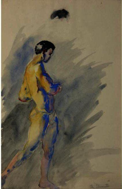 Charles Demuth - Male Athlete