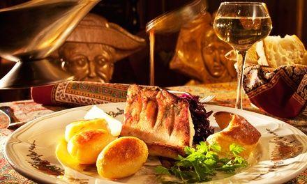 Menu raffiné et gourmand pour 2 personnes - Restaurant Le Tire Bouchon à STRASBOURG