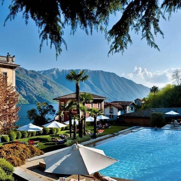 Grand Hotel Tremezzo, Lake Cuomo, Italy