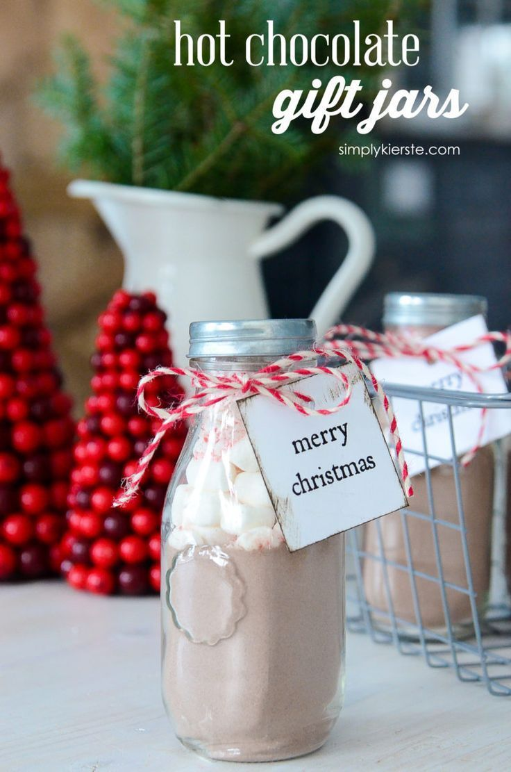 Hot Chocolate Gift Jars | MY CRAFTS | Pinterest | Gifts, Jar gifts ...
