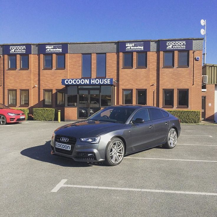 We have a lovely new #Audi #A5 #Sportback 2.0TDI #BlackEdition #STronic 5dr in #DaytonaGrey.  If you would like more information about any of the vehicles we have available please don't hesitate to give us a call on 01332290173 or visit http://ift.tt/1pKT6ZM  #cars #shorttermcars #cocoonvehicles #leasing