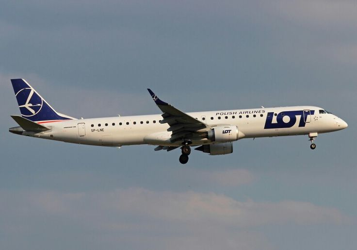 A first picture from today.LOT Airlines Embraer 195 SP-LNE at Düsseldorf.