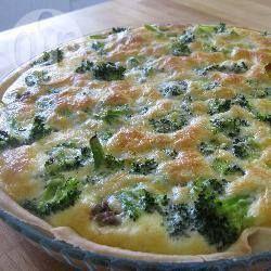 Foto recept: Quiche met broccoli en gehakt